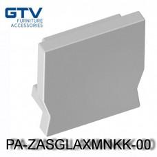 Заглушка PA-ZASGLAXMNKK-00  для профиля GTV GLAX mini