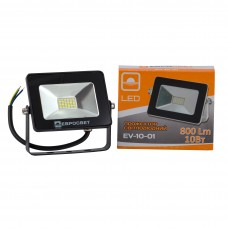 Прожектор 10W 800Lm 6400K IP65 EVRO LIGHT EV-10-01 НМ