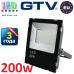 Светодиодный LED прожектор, GTV, 200W, IP65, 6400K, iMAX. ПОЛЬША!!! Гарантия – 3 года