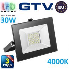 Светодиодный LED прожектор, GTV, 30W, IP65, 4000K, INNOVO. ПОЛЬША!!! Гарантия – 3 года