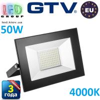 Светодиодный LED прожектор, GTV, 50W, IP65, 4000K, INNOVO. ПОЛЬША!!! Гарантия – 3 года