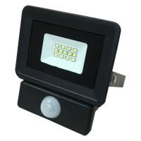 Светодиодный прожектор с датчиком 10W S4-SMD-10-Slim-Sensor 6400К 220V IP65