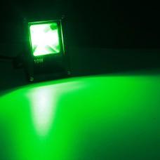 Светодиодный прожектор LED 10Вт Зеленый