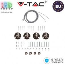 Кронштейны для подвесного монтажа V-TAC, для панели 600х600mm. ЕВРОПА!!!