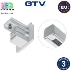 Заглушка для шинопровода GTV, 35x31мм, белая (COB X-LINE). ЕВРОПА!!!