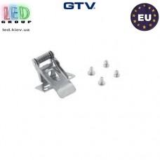 Набор крепежей GTV для внутрипотолочной установки LED панелей - 4 шт. ПОЛЬША!