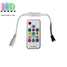 Контроллер для RGB-Magic светодиодных лент, модулей, LED NEON, 5-24V, 1024 пикселя. Пульт RF