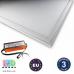 Светодиодная LED панель GTV, 52W, 6400К, IP44, толщина - 8мм, PREMIO. ПОЛЬША!!! Premium. Гарантия - 3 года