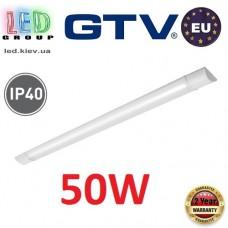 Светодиодный LED светильник GTV, 50W (EMC+), 4000К, 1500мм, IP40, накладной, ASPEN. ЕВРОПА!!! Гарантия - 2 года!