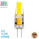 Светодиодная LED лампа, 3.5W, G4, 4500К – нейтральное свечение, RА≥80