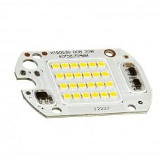 Светодиодная SMD матрица 20W + IC драйвер 220V