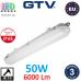 Светодиодный LED светильник GTV герметичный 50W (ЕМС+), IP65, 4000K, 1200мм, BETIS II. ЕВРОПА!!! Гарантия - 3 года!