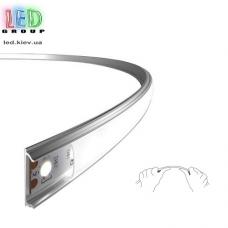 Комплект: алюминиевый гибкий светодиодный профиль + матовый рассеиватель, 2 метра