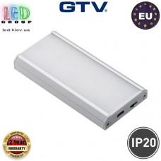 Аккумуляторный LED светильник беспроводной с датчиком движения для шкафов LED COMO IR 1W (зарядка через USB пров 0,5м, IP20, 120*, 4000K, 40-50lm). Гарантия - 2 роки!