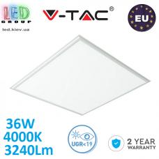 Светодиодная LED панель, V-TAC, 36W, 4000K, 3240Lm, RA≥80. ЕВРОПА!!! Гарантия - 2 года