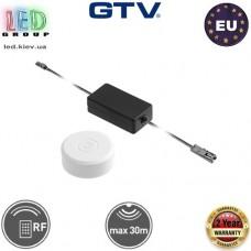 Дистанционный радиоуправляемый выключатель GTV, накладной, 60W, 12V. ЕВРОПА!!! Гарантия - 2 года