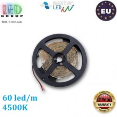 Светодиодная лента master LED, 12V, SMD 2835, 60 led/m, IP20, белый нейтральный 4500К, Premium. ЕВРОПА.