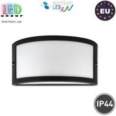 Светильник/корпус master LED, IP44, фасадный, алюминий + РС, чёрный, 1хE27, Tola. ЕВРОПА!