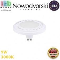 Светодиодная LED лампа Nowodvorski 9344 LED DIFFUSER, 9W, GU10, ES111, 120°, 3000К – тёплое свечение, белый корпус. ЕВРОПА!!!
