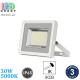 Светодиодный LED прожектор, 30W, 5000K, IP65, алюминий, накладной, белый, RA≥80, PREMIUM