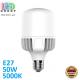 Светодиодная LED лампа 50W, E27, A118, 5000K - нейтральное свечение, алюпласт, RA>80