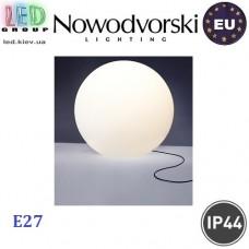 Cветильник/корпус садово-парковый Nowodvorski CUMULUS 6978, IP44, 1xE27, накладной, пластик, белый. ЕВРОПА!