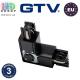 Соединитель электрический для шинопровода GTV, трёхфазный, L 90°, регулируемый, чёрный. ЕВРОПА!