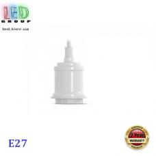 Потолочный светильник/корпус, декоративный, круглый, белый, 1xE27