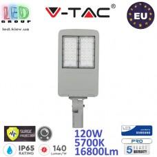 Светодиодный LED прожектор, V-TAC, 120W, 5700K, 16800Lm, SAMSUNG CHIP, IP65, с защитой от скачка напряжения (молниезащита), с драйвером INVENTRONICS, диммируемый. ЕВРОПА!!! Premium. Гарантия - 5 лет