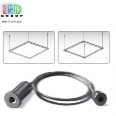 Комплект креплений для подвесных светодиодных панелей, сталь