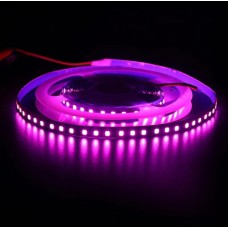 Светодиодная лента 12V, 2835, 120 led/m, 9.6W, IP20, розовая. Гарантия - 12 месяцев
