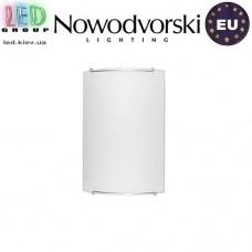 Светильник/корпус настенный Nowodvorski CLASSIC 1129, 1xE14, накладной, стекло, белый. ЕВРОПА!!!