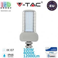 Светодиодный LED прожектор, V-TAC, 100W, 4000K, 12000Lm. SAMSUNG CHIP, RA≥70. ЕВРОПА!!! Premium. Гарантия - 5 лет