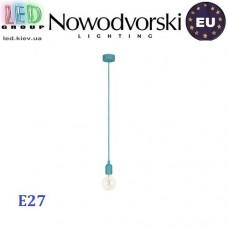 Светильник/корпус потолочный Nowodvorski SILICONE 6400, 1хE27, круглый, голубой. ЕВРОПА!!!