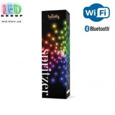 Светодиодная LED гирлянда Twinkly Spritzer, 3.5/12м, SMART, RGB, 200 (40х5) led, Bluetooth + WiFi, Gen II, IP44, кабель прозрачный + матовый