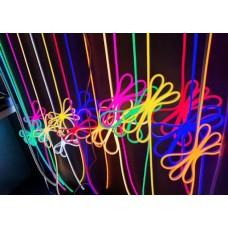 Светодиодный гибкий неон RGB 12V, LED NEON - 13x5мм, цвет свечения - RGB