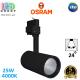Светодиодный LED светильник Osram, трековый, 25W, 4000K, 24°, трёхфазный, чёрный корпус, алюминий + ПММА. Гарантия - 5 лет