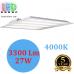 Светодиодная LED панель 27W, 3300Lm (122Lm/W), 4000K, 600x600мм, белая, RA≥80. Гарантия - 5 лет!