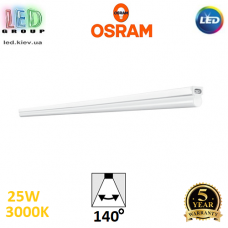 Светодиодный LED светильник Osram, 25W, 3000K, линейный, 1500мм, белый, поликарбонат, магистральный, Ledvance, Ra≥80, Batten. Гарантия - 5 лет