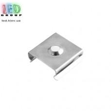 Клипса монтажная для алюминиевого профиля LD-029, металлическая.