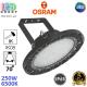 Светодиодный светильник-прожектор Osram, 250W, 6500K, 70º, IP65, высотный, подвесной, алюминий + поликарбонат, чёрный, круглый, HIGH BAY, Ra≥80. Гарантия - 5 лет