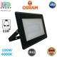 Светодиодный LED прожектор Osram, 100W, 4000K, 110º, IP65, алюминий + стекло, чёрный, ECO FLOODLIGHT, Ra≥80. Гарантия - 2 года