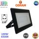 Светодиодный LED прожектор Osram, 100W, 6500K, 110º, IP65, алюминий + стекло, чёрный, ECO FLOODLIGHT, Ra≥80. Гарантия - 2 года