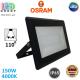 Светодиодный LED прожектор Osram, 150W, 4000K, 110º, IP65, алюминий + стекло, чёрный, ECO FLOODLIGHT, Ra≥80. Гарантия - 2 года