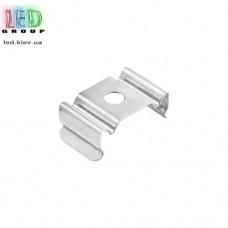 Клипса монтажная для алюминиевого профиля LD-037, металлическая.