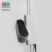 Напольная светодиодная LED лампа, 3x2W, 3xLED, 4000K, Ra≥80, алюминиевая, белый + чёрный, торшер. Гарантия - 3 года