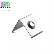 Клипса монтажная для алюминиевого профиля LD-049, металлическая.