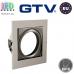 Потолочный светильник/корпус, GTV, встраиваемый, регулируемый, сталь, квадратный, патина, VILA. ЕВРОПА!