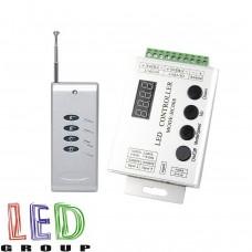 Контроллер НС008 для RGB-Magic светодиодных лент, модулей, LED NEON, 5-24V, до 2048 пикселя. Пульт RF