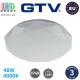 Светодиодный LED светильник GTV, 48W (EMC+), 4000K, IP40, круглый, поликарбонат + металл, белый, Ra≥80, STARS. ЕВРОПА! Гарантия - 3 года
